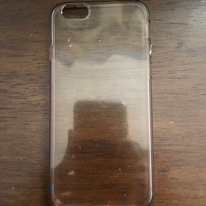 Clear iPhone 6/6s case